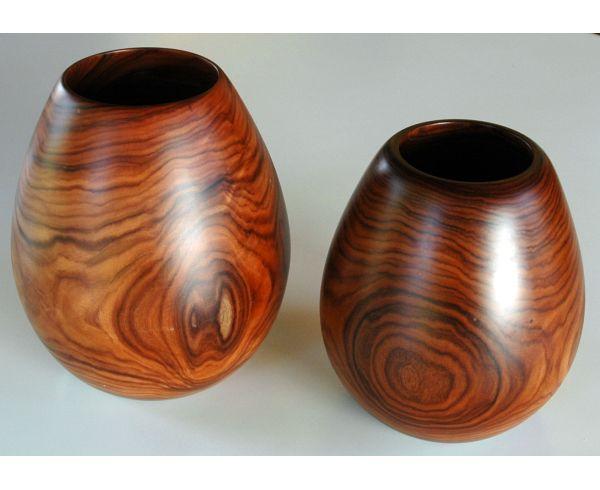 309 - Vaso madeira