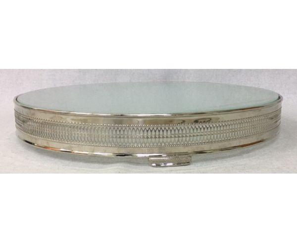 206 - Base para bolo de prata